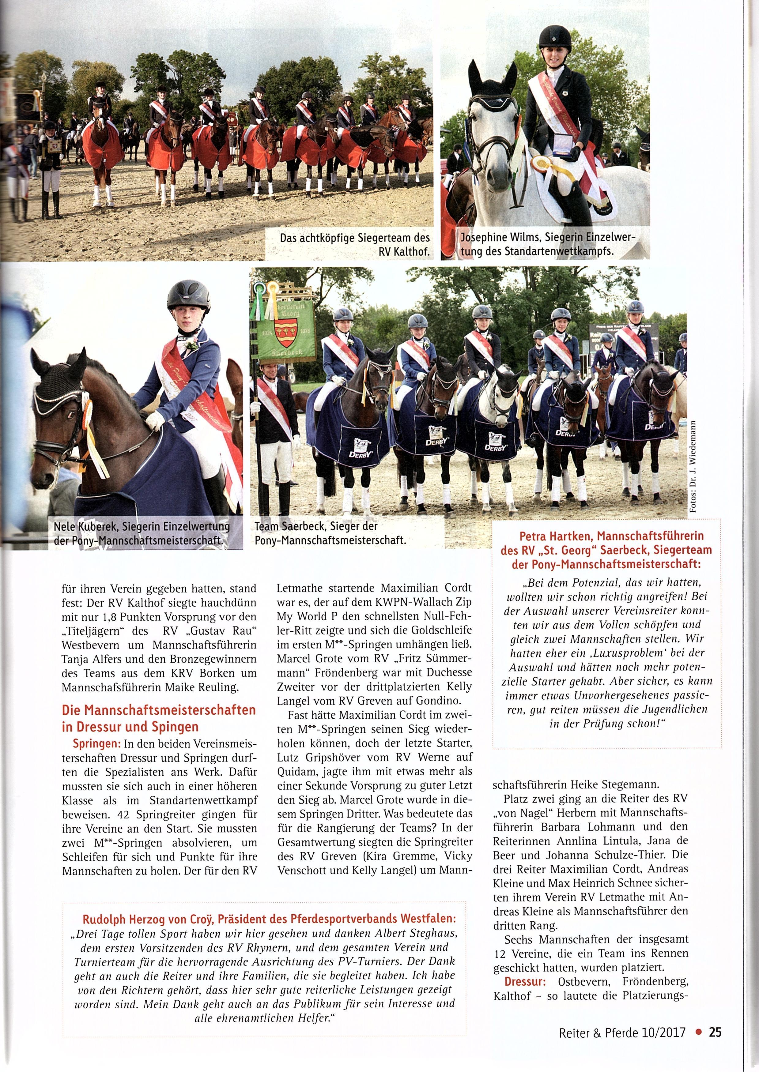 Reiter und Pferde 10-2017 - 2
